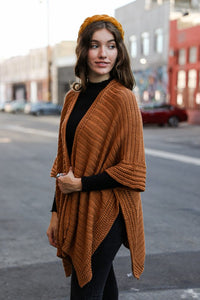 Endless Love Knit Poncho