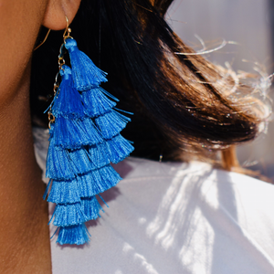 Make a Wish Tassel Earrings