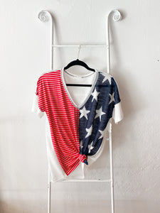 Stars & Stripes Knit Top