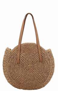 Take Me On Vacation Straw Bag