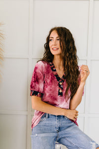 Jungle Expedition Top In Wine