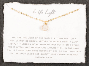 Be the Light in Gold By Dear Heart