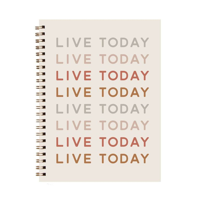 Live Today Journal