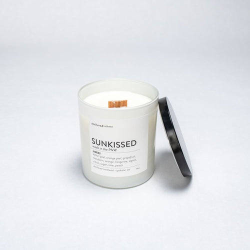 Sunkissed - White Tumbler w/ cover