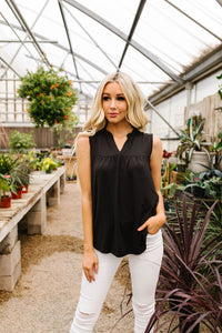 Split Second Top In Black
