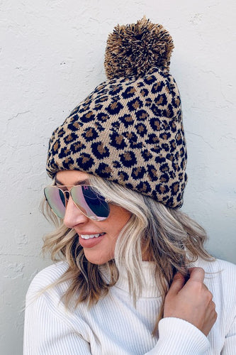 Bonfire Nights Pom Beanie