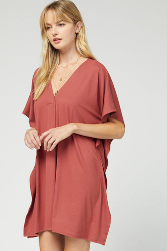 The Courtney V-Neck Dress