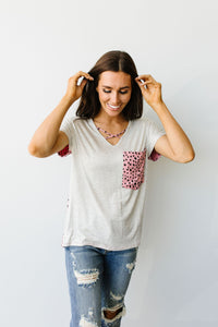 Spotty Connection Top