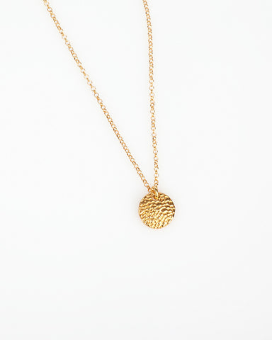 Image of yellow gold necklace by Mokave available in the WOMB online store.