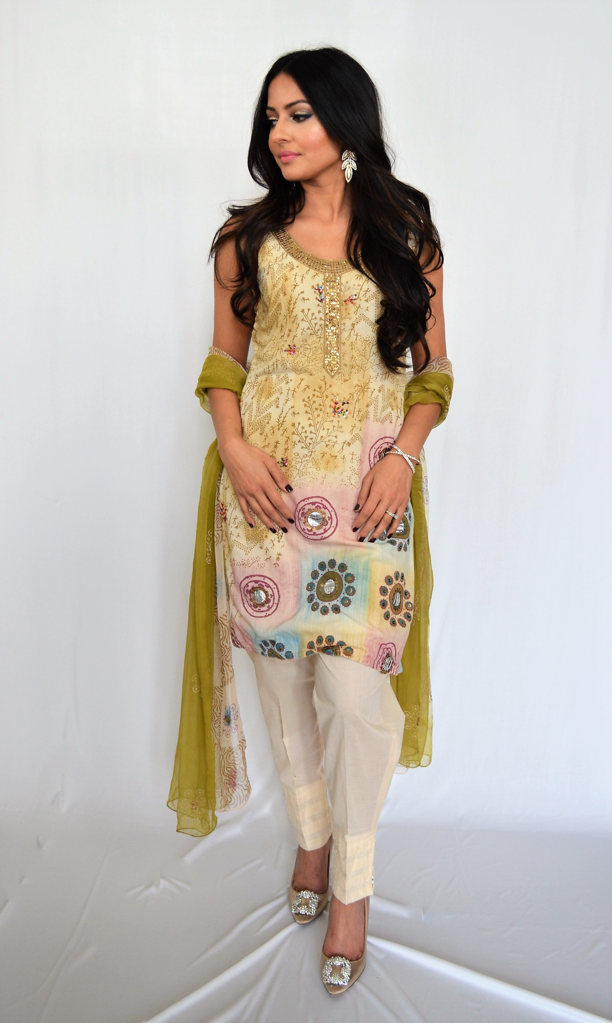 Afshan LifesForLiving Summer Kurti and Dupatta