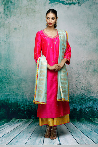 Sania Maskatiya Pink Dress