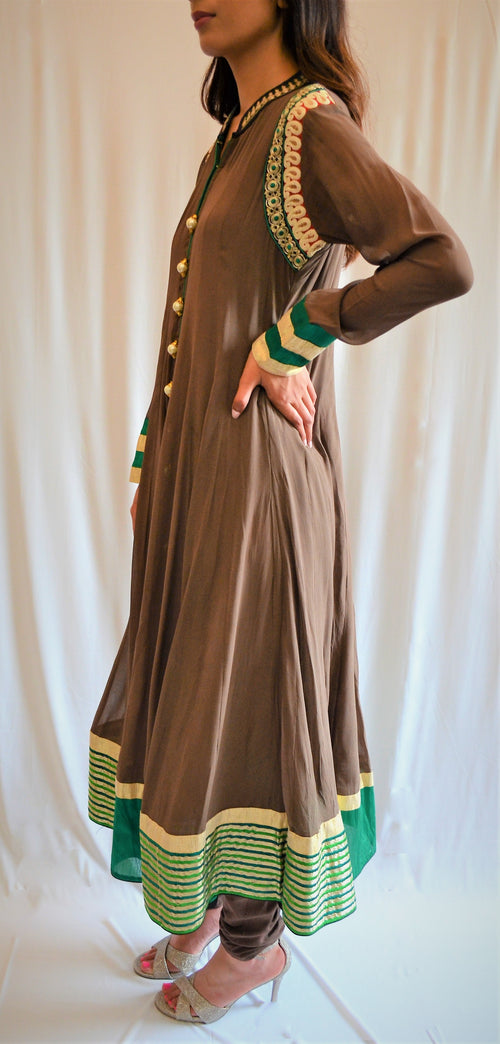 Brown Asiyah Suit