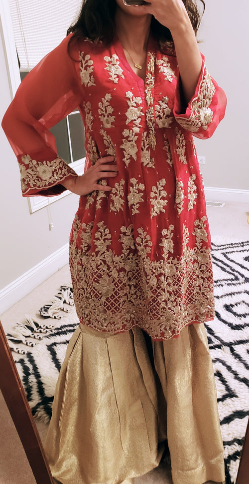 Agha Noor Kurti and Batik Pants