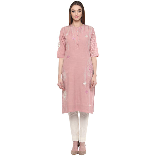 Brand New Anju Modi - Soft Rose Kurti