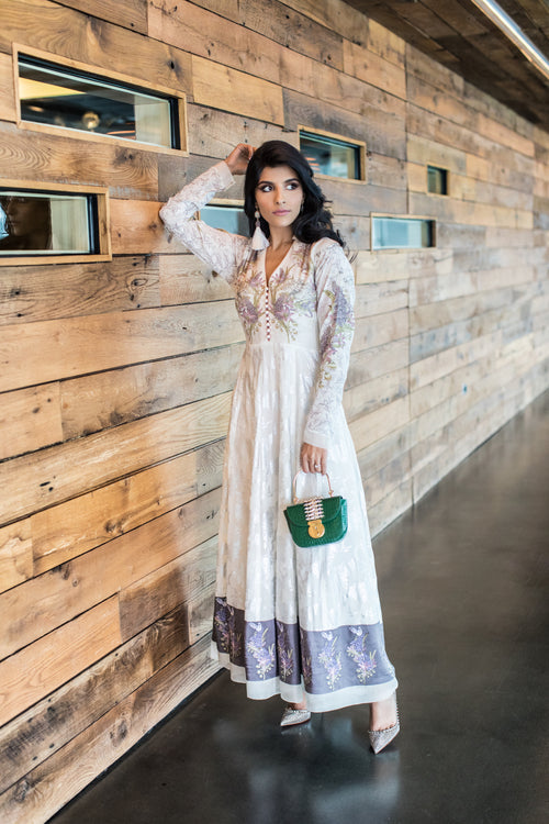 Nida Azwer Lilac Dress