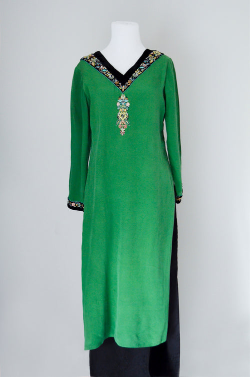 Embroidered kurti and pants