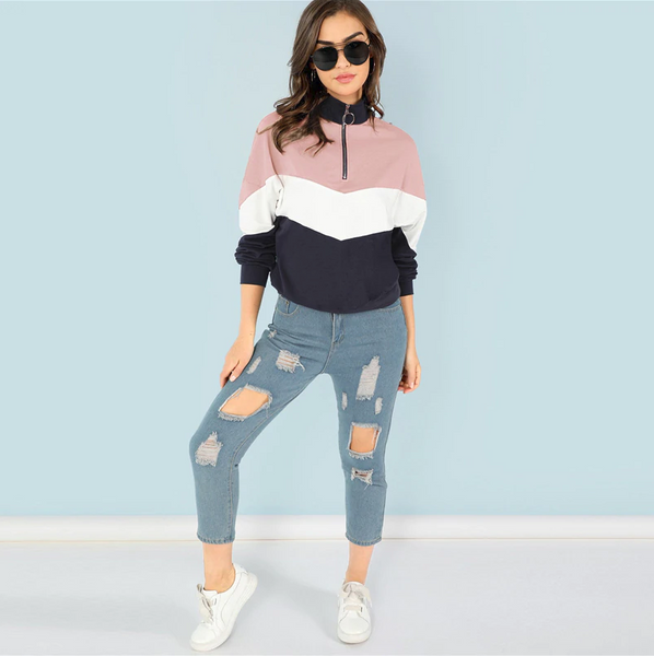 Vareshop Pink Sweatshirt