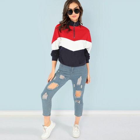 Vareshop Red Sweatshirt