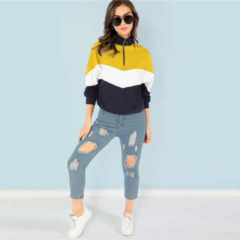 Vareshop Yellow Sweatshirt