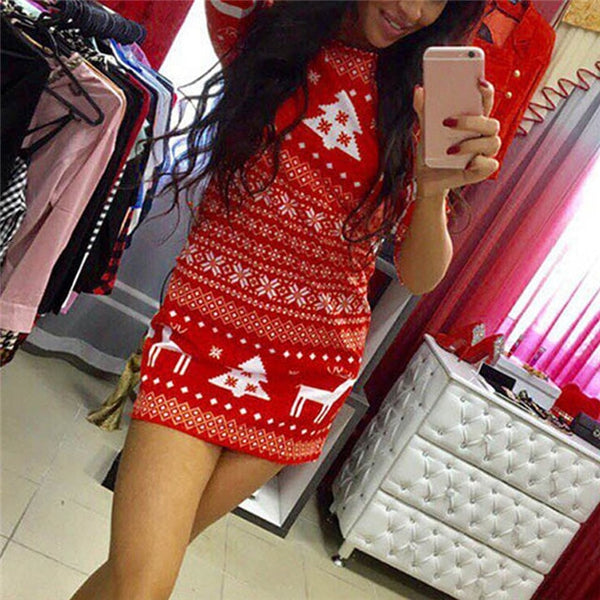 Women's Holiday Christmas Dress