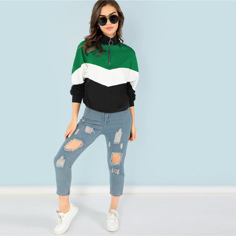 Vareshop Green Sweatshirt
