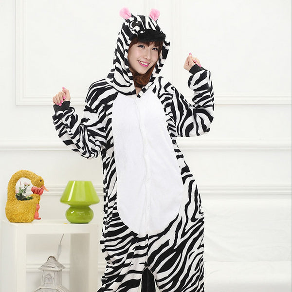 Winter Animal Pajama • Minions, Pink Unicorn, Cow, Giraffe, Hello Kitty, Pikachu, Tiger, Zebra, Star Pegasus