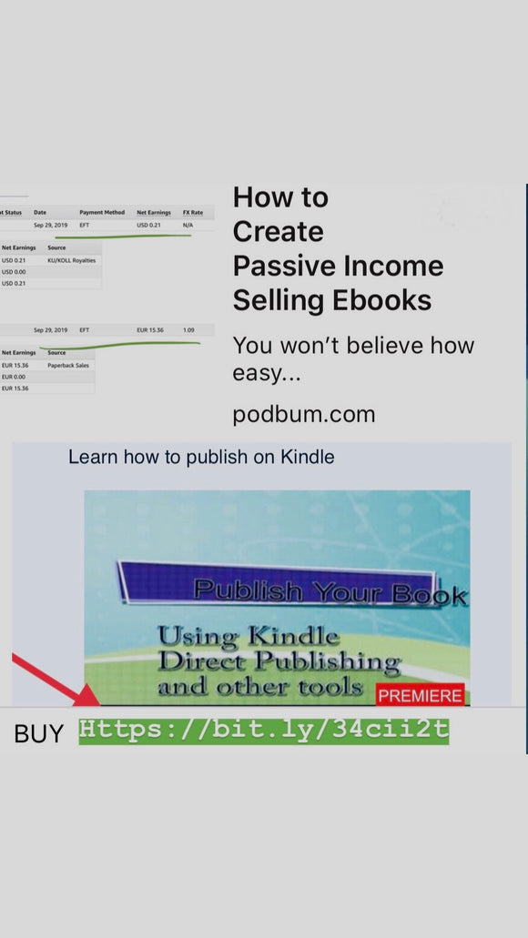 How To Publish Your EBook Using Amazon Kindle Direct Platform