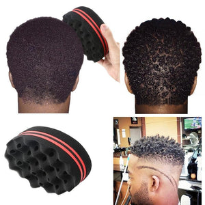 Provided Double Sided Barber Hair Brush Sponge Dreads Locking Twist Coil Afro Curl Wave Big Clearance Sale Home Appliance Parts