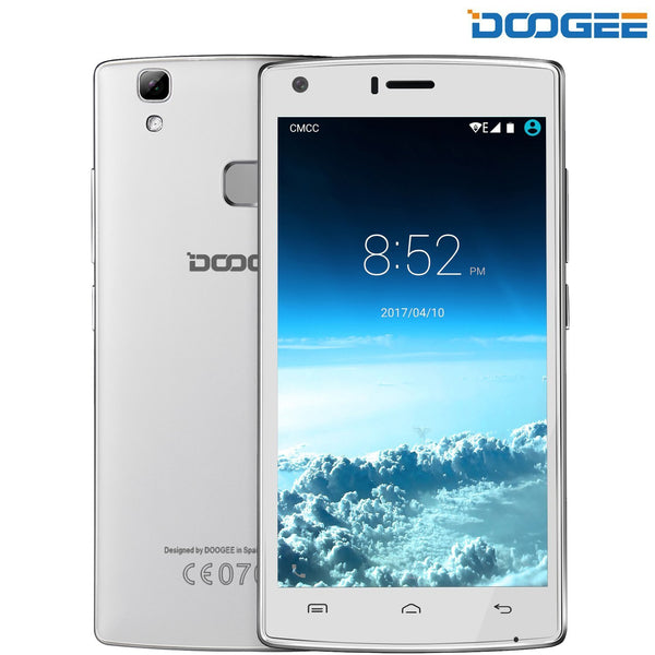 "DOOGEE X5 MAX Unlocked GSM Cell Android 6.0 Smartphone - 5.0"" HD IPS Display"