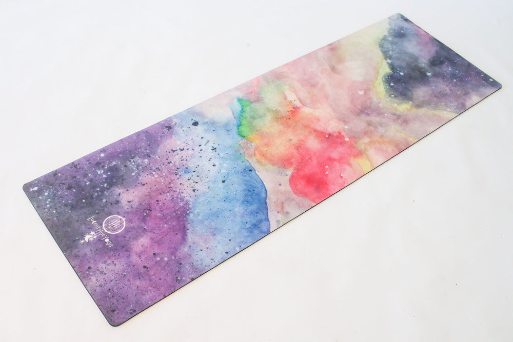 Iriah colourful bright yoga mat stars