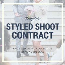 Load image into Gallery viewer, Styled Shoot Contract