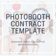 Load image into Gallery viewer, Photobooth Contract