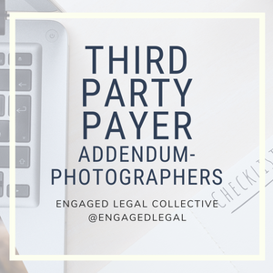 Third Party Payer Addendum - for Photographers