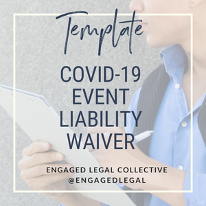 COVID Liability Waiver