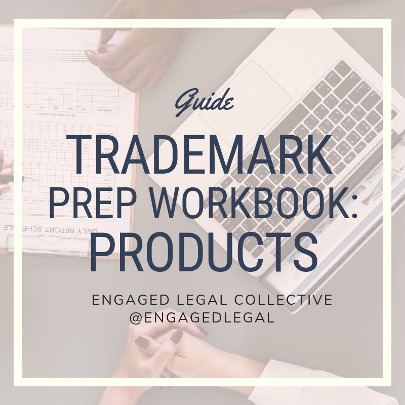 Trademark Prep Workbook: For Products