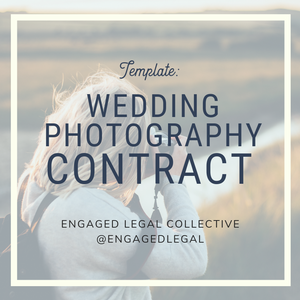 Wedding Photography Contract-1-The Engaged Legal Collective Wedding Contracts and Templates