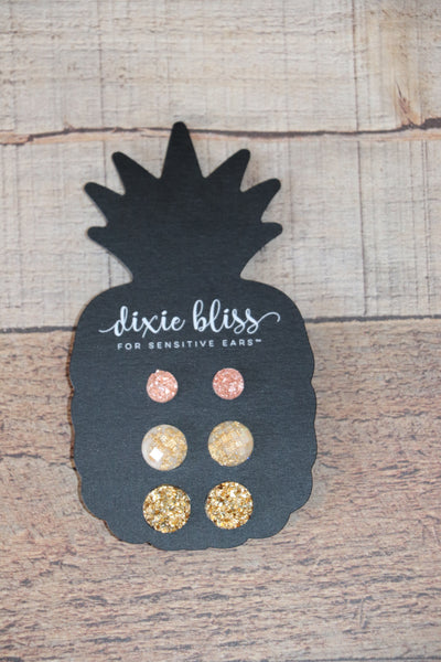 Luella Trio Earring Set