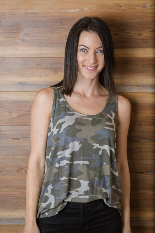 On The Hunt Camo Tank