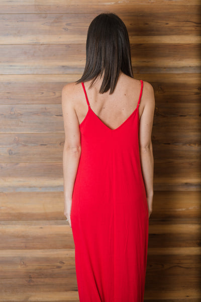 Sway Dress - Ruby