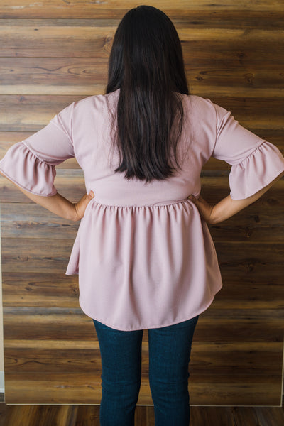 Juliet Blush Top