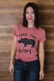 Save The Wino Graphic Tee