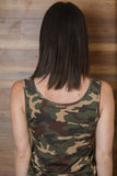 On the Hunt Dark Camo Tank