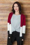 Nightshade Colorblock Cardigan
