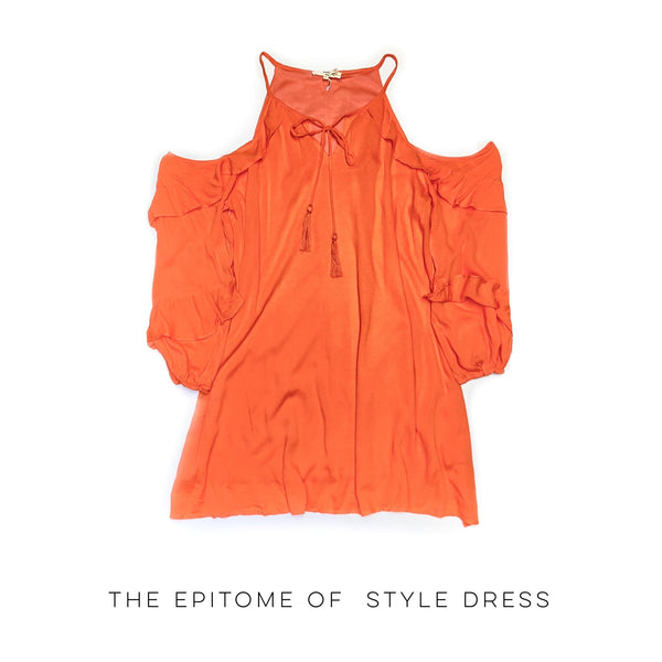 The Epitome of Style Dress