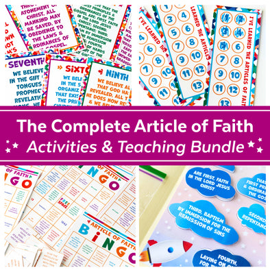 Articles of Faith Mega Activities & Teaching Bundle
