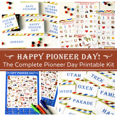 The Complete Pioneer Day Printable Kit