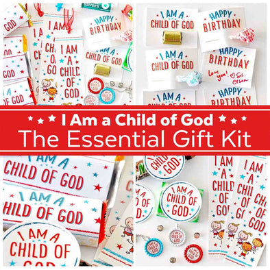 I Am a Child of God Essential Gift Printable Kit