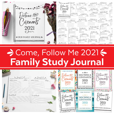 Come Follow Me 2021 Family Journal