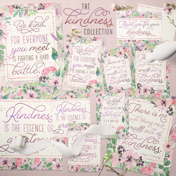 The Kindness Collection Printable Kit