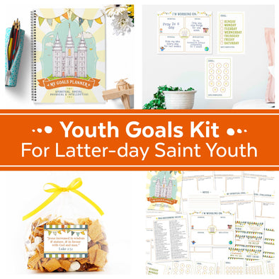 Youth Goals Kit for LDS Youth and Primary Children